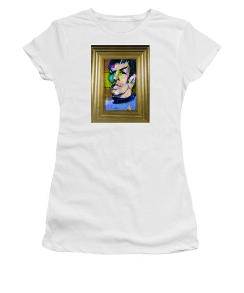 Spock Women's T-Shirt (Junior Cut) by Les Leffingwell