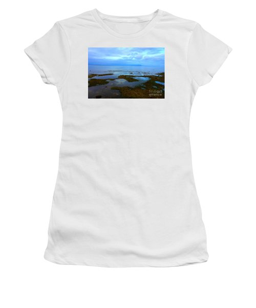 Spooky Morning Tide Receded From Beach Women's T-Shirt