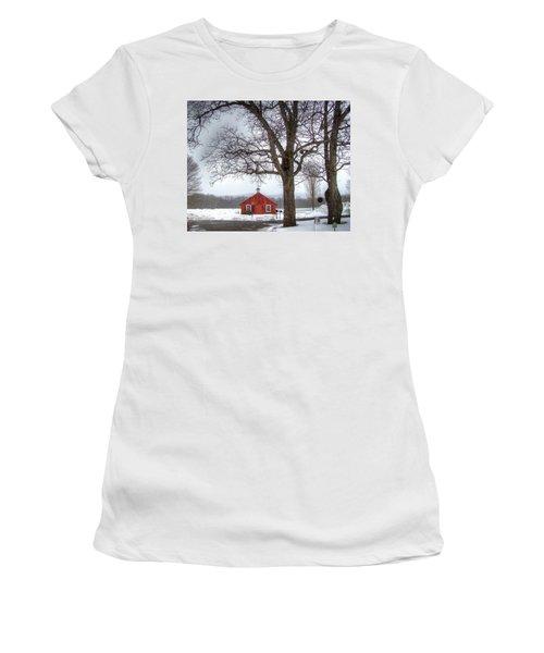 Spot Of Color Women's T-Shirt (Athletic Fit)