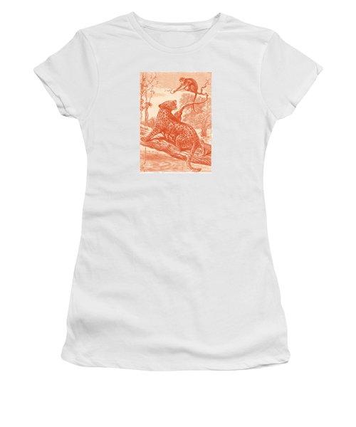 Spotted Women's T-Shirt (Junior Cut) by David Davies