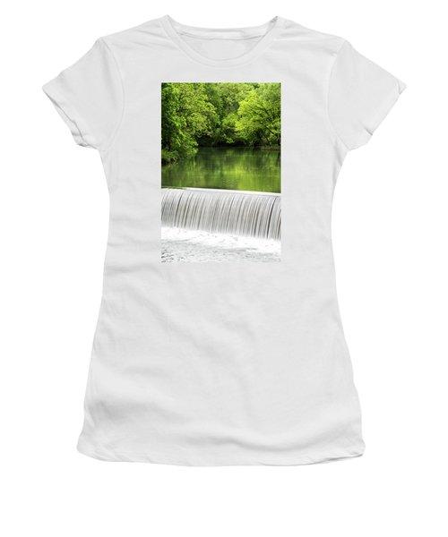 Women's T-Shirt (Junior Cut) featuring the photograph Spring At Buck Creek by Parker Cunningham