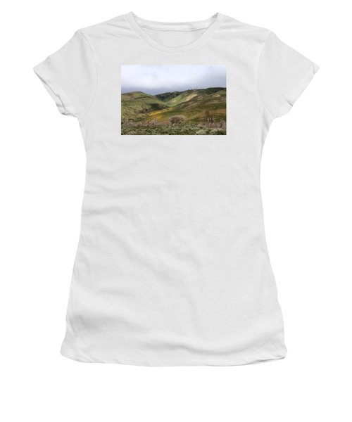 Women's T-Shirt (Junior Cut) featuring the photograph Spring At Door by Viktor Savchenko