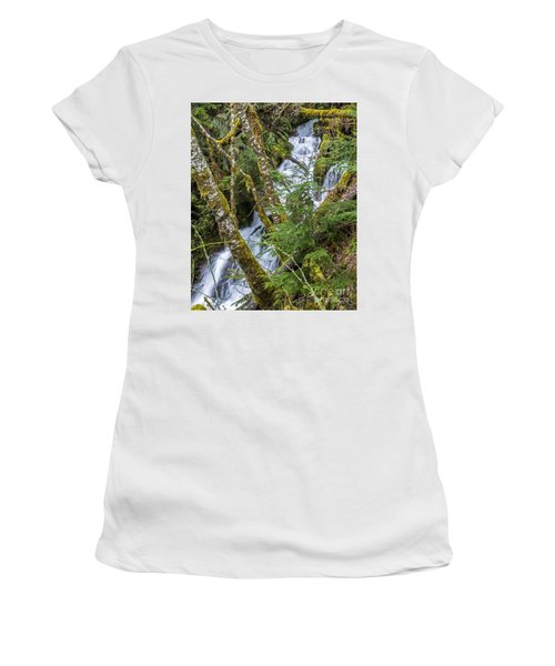 Spring Cascade Women's T-Shirt (Athletic Fit)