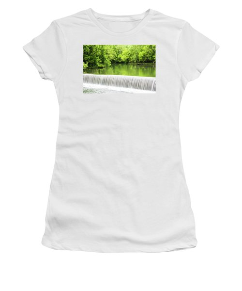 Women's T-Shirt (Junior Cut) featuring the photograph Spring Days In Helena by Parker Cunningham
