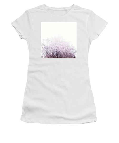 #spring #flowers #tree #college #pink Women's T-Shirt