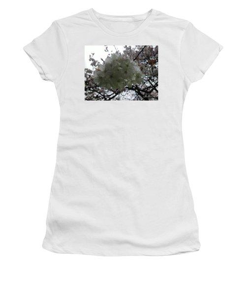 Women's T-Shirt (Junior Cut) featuring the photograph Spring by Hanza Turgul