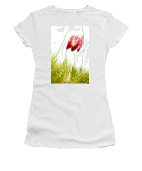 Women's T-Shirt (Junior Cut) featuring the photograph Spring Time Dreams by Dirk Ercken