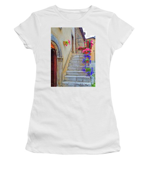 Springtime In Italy  Women's T-Shirt (Athletic Fit)