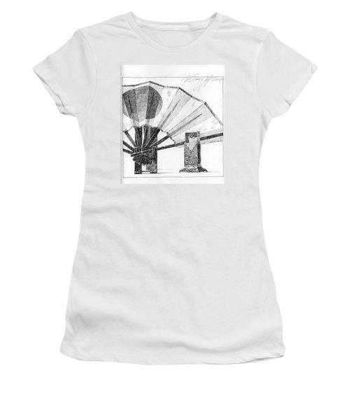Spirit Of Japan. Fan And Matchbox Women's T-Shirt
