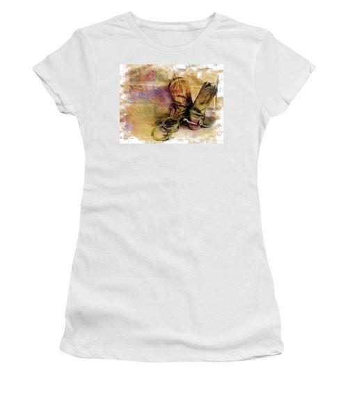 Spurs Women's T-Shirt (Athletic Fit)