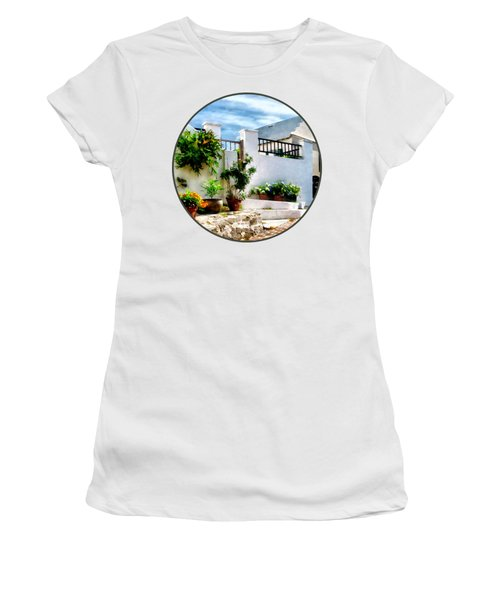 St George Bermuda - Sunny Street Women's T-Shirt
