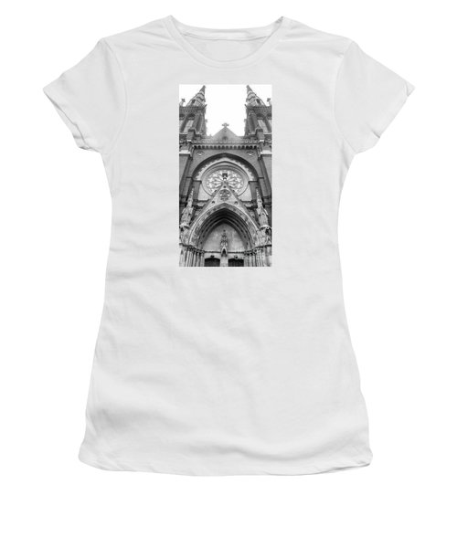 St. John's Cathedral In Helsinki, Finland. Women's T-Shirt (Athletic Fit)