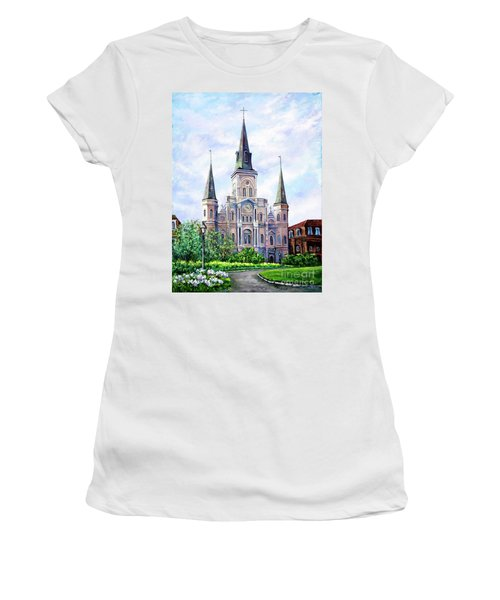 St. Louis Cathedral Women's T-Shirt (Athletic Fit)