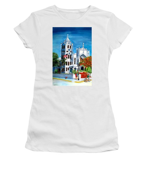 St. Paul's Church  Women's T-Shirt (Athletic Fit)