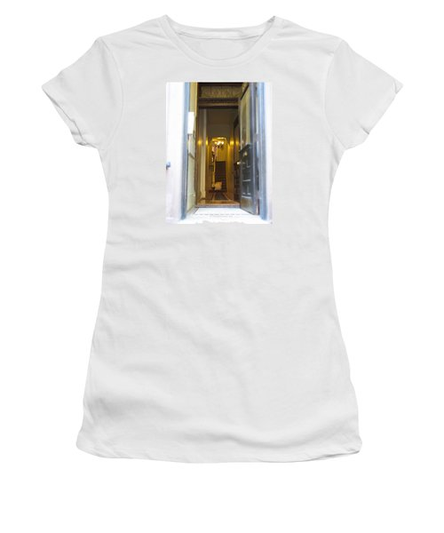 Stairs Women's T-Shirt (Junior Cut) by Christopher Woods