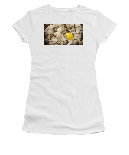 Standing Out In A Crowd Women's T-Shirt (Athletic Fit)