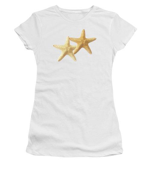 Starfish On White Women's T-Shirt