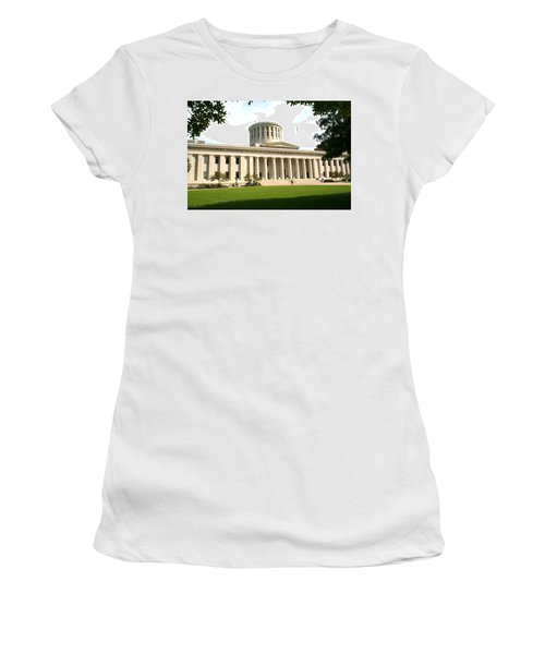 State Capitol Of Ohio Women's T-Shirt (Athletic Fit)