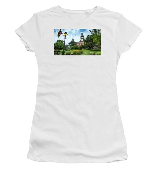 State Capitol Women's T-Shirt (Athletic Fit)