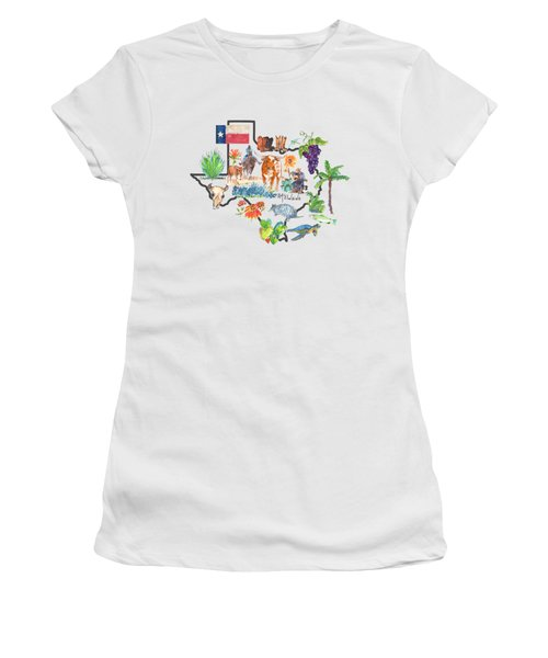 State Of Texas As I Know It Women's T-Shirt