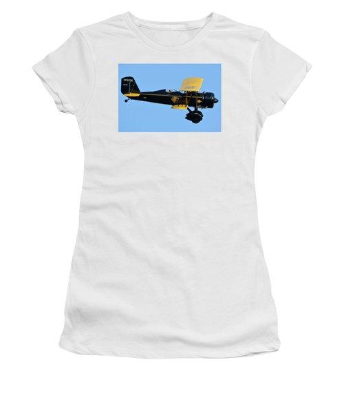 Stearman 4e Junior Speedmail Nc663k Chino California April 29 2016 Women's T-Shirt