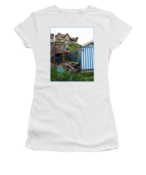 Steephill Cove Women's T-Shirt (Athletic Fit)