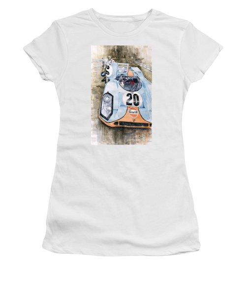 Steve Mcqueens Porsche 917k Le Mans Women's T-Shirt