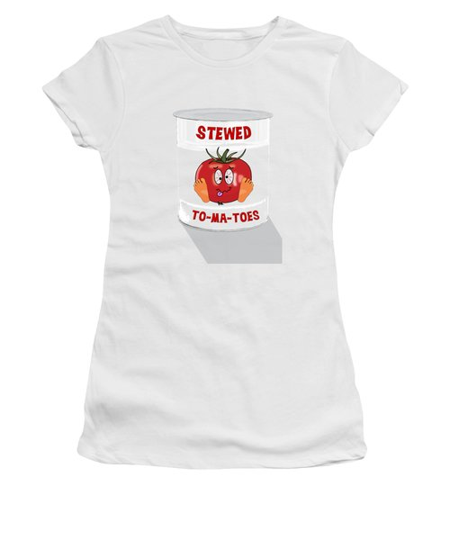 Stewed To Ma Toes Women's T-Shirt (Athletic Fit)