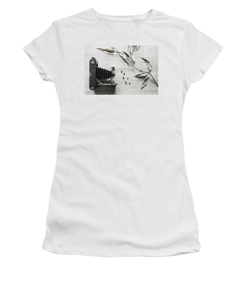 Still Life Number 1 Women's T-Shirt (Junior Cut) by Keith Hawley