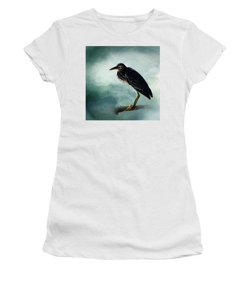 Stink Eye Women's T-Shirt (Junior Cut) by Cyndy Doty