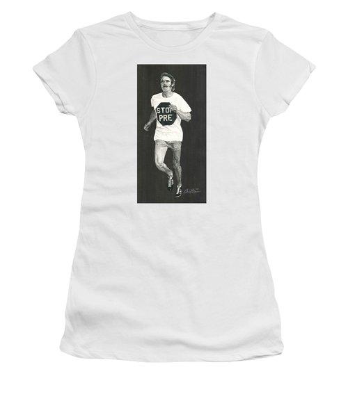 Stop Pre Women's T-Shirt (Athletic Fit)