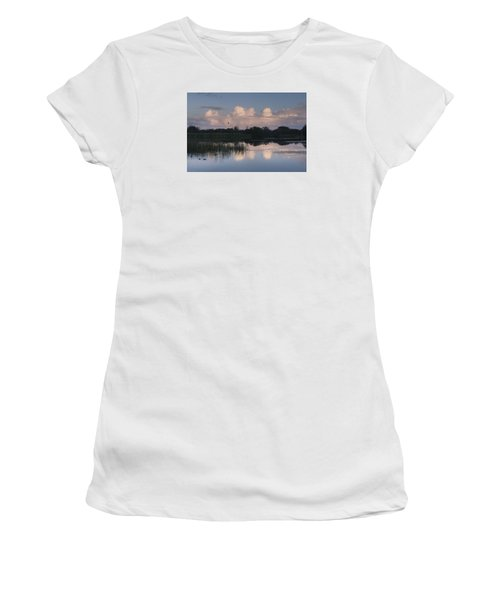Storm At Sunrise Over The Wetlands Women's T-Shirt