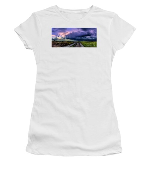 Storm Clouds Women's T-Shirt (Athletic Fit)