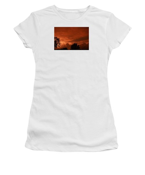 Stormy Sunset Women's T-Shirt (Athletic Fit)