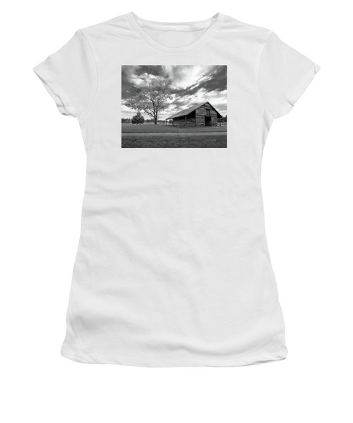 Stormy Weather Women's T-Shirt (Junior Cut) by George Randy Bass