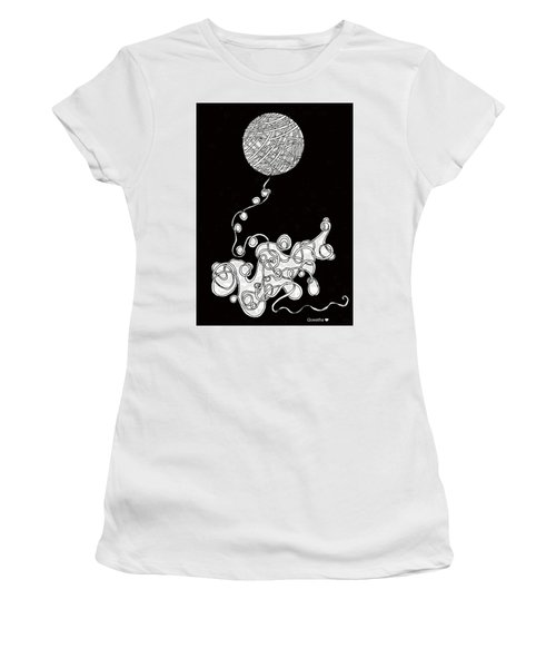 String Energy 1 Women's T-Shirt (Athletic Fit)
