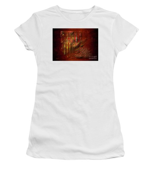 Strips Women's T-Shirt (Athletic Fit)