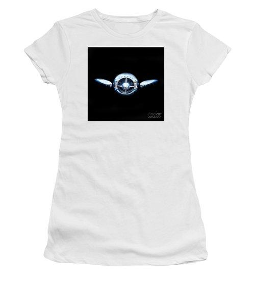 Studebaker In Black Women's T-Shirt (Junior Cut) by Steven Parker