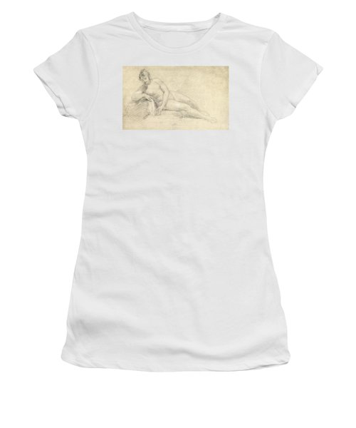 Study Of A Female Nude  Women's T-Shirt