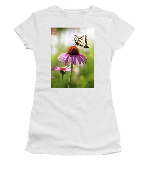 Women's T-Shirt (Junior Cut) featuring the photograph Summer Colors by Everet Regal