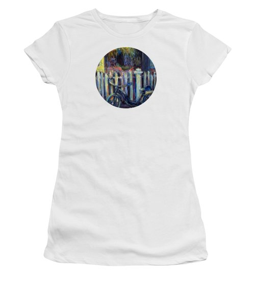 Summer Days Women's T-Shirt (Junior Cut) by Mary Wolf