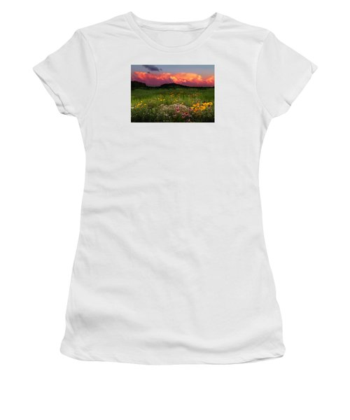 Summer Majesty Women's T-Shirt (Athletic Fit)