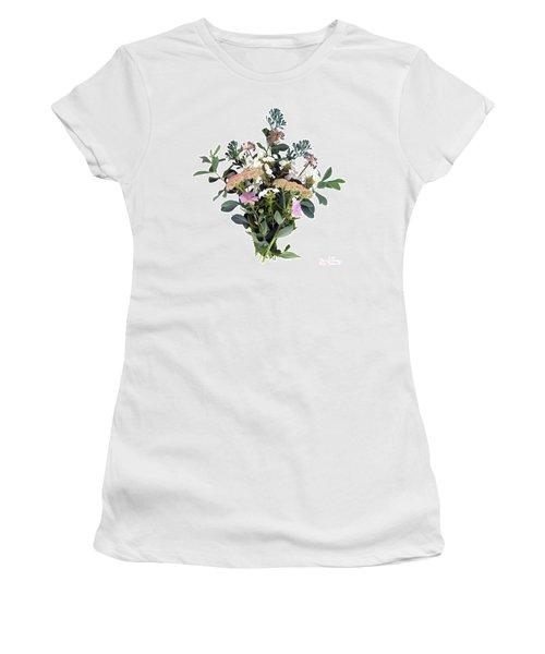 Summer Perrenials Women's T-Shirt (Athletic Fit)