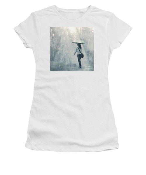 Summer Rain Women's T-Shirt (Athletic Fit)