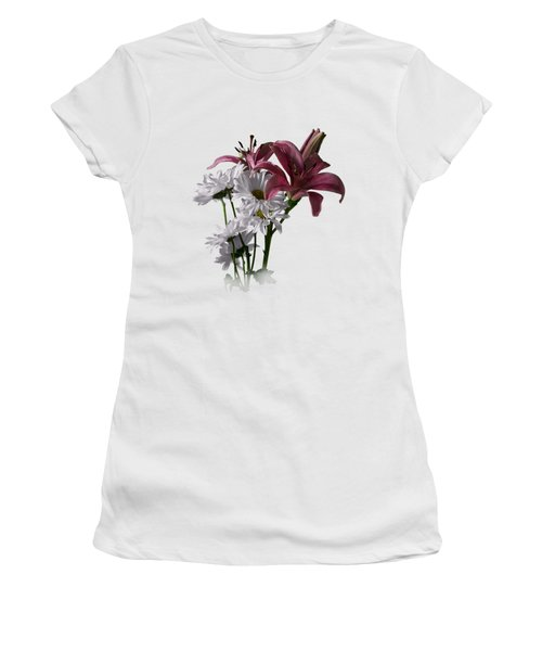 Summer Wild Flowers Clothing Women's T-Shirt (Athletic Fit)