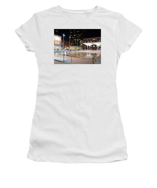 Sundance Square Fort Worth 3 Women's T-Shirt (Athletic Fit)