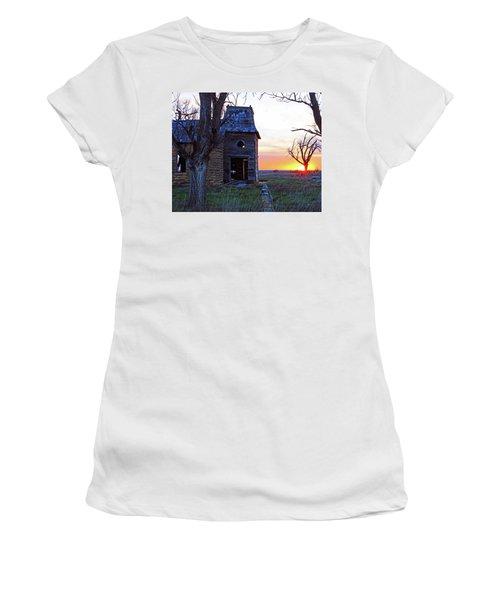 Sundown Church Women's T-Shirt (Athletic Fit)