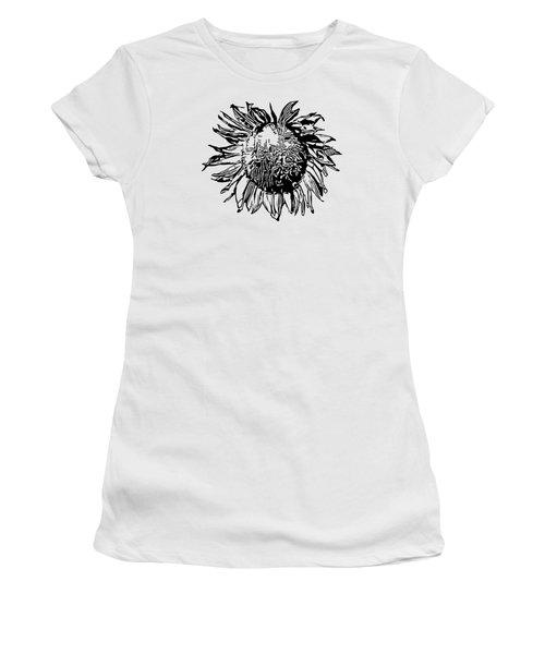 Sunflower Silhouette Women's T-Shirt