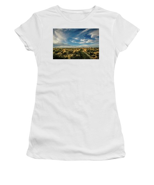 Women's T-Shirt (Junior Cut) featuring the photograph Sunlight For Photographers by Marilyn Hunt