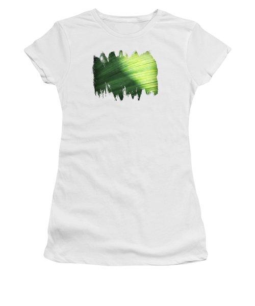 Sunlit Palm Women's T-Shirt (Junior Cut) by Anita Faye
